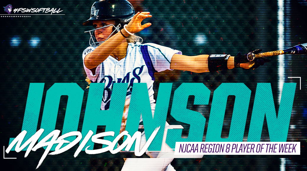 Madison Johnson Named NJCAA Region 8 Player Of The Week