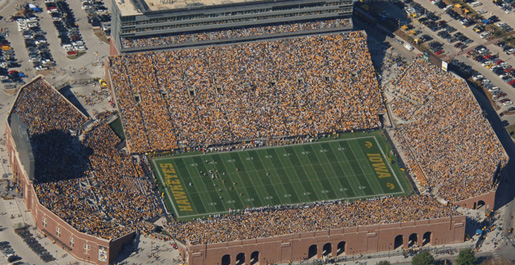 Golden Eagle football schedule to feature game at Iowa in 2011