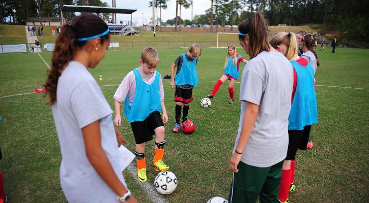 Bobcat Soccer Hosts U12 Teams for Free Clinic