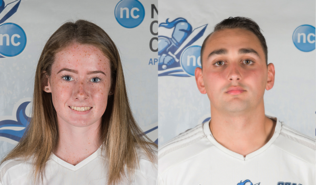 NEWS: Mix & Therrien named Niagara College Athletes of the Week