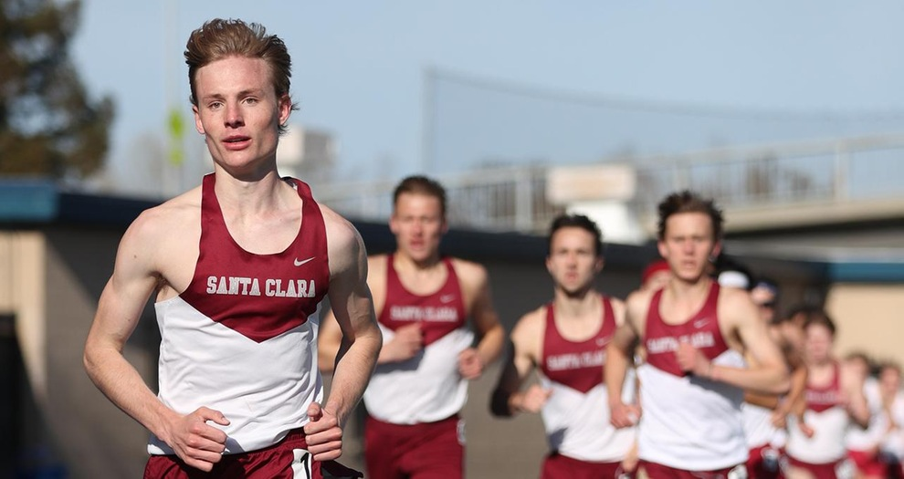 Jack Davidson now owns program records at 1,500 and 3,000 meters.