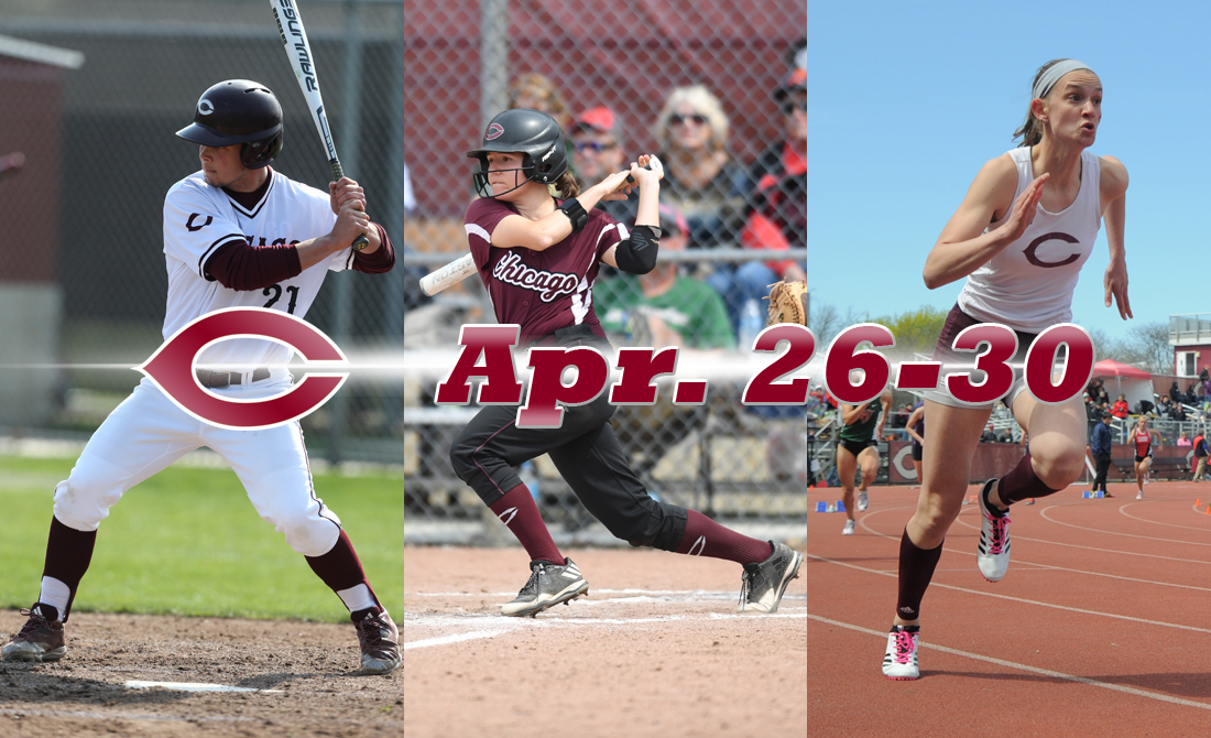 UChicago Athletics Preview: April 26-30