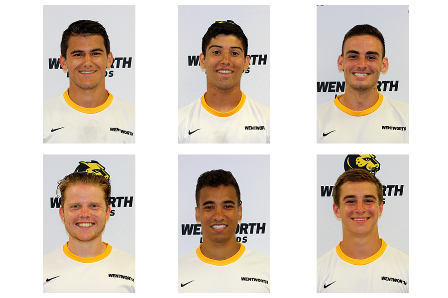 Six Men's Soccer Players Named All-Commonwealth Coast Conference