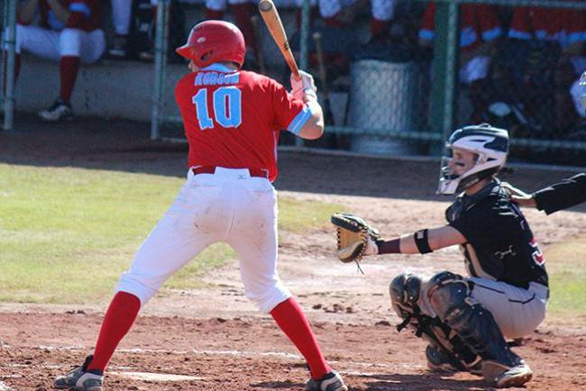 Hunter Robson was 5-6 with six RBIs (Photo by Jacob Dewald)