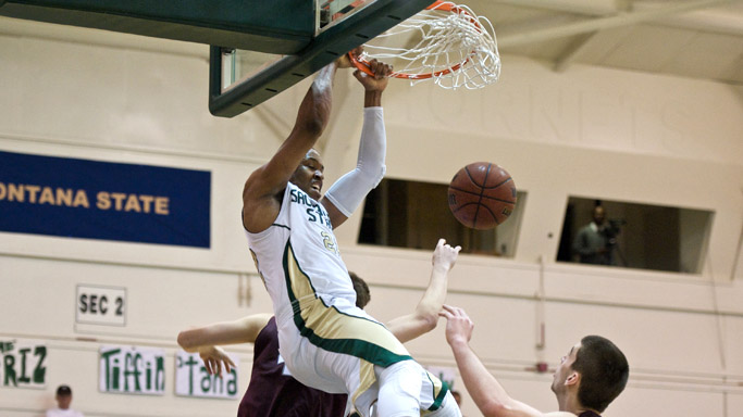 MEN'S BASKETBALL FALLS TO MONTANA, BIG SKY PLAYOFF BERTH IN JEOPARDY