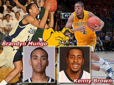 Brandyn Mungo and Kenny Brown have transferred to FSU (Photos Courtesy Clarion University & Augustana College, respectively)