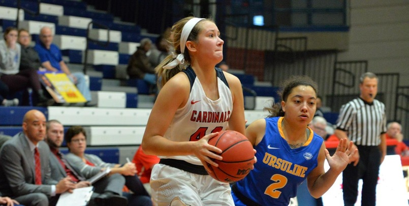 Cardinals Fall to Ursuline in Regional Action Despite Second Half Comeback
