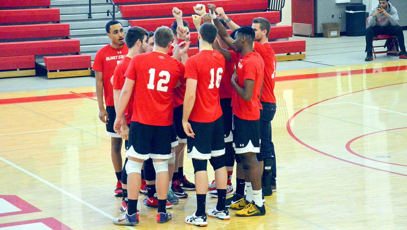 Men's volleyball team tripped up by Wittenberg