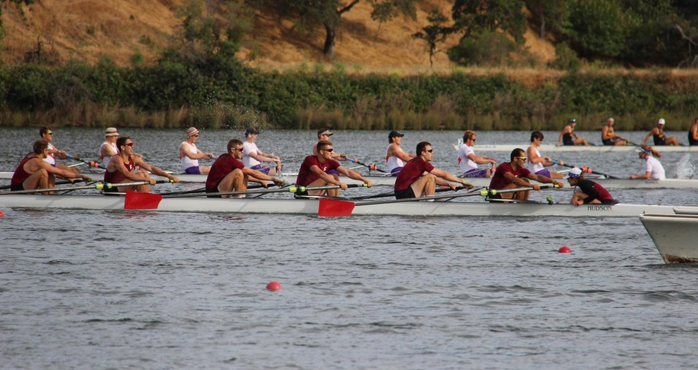 Men's Rowing Finishes IRAs as Program-Best Three Boats Compete