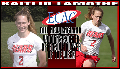 Kaitlin Lamothe Named ECAC Offensive Player of the Week