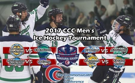 Hockey Secures Fourth Seed, Will Host UNE on Saturday in CCC Quarterfinals