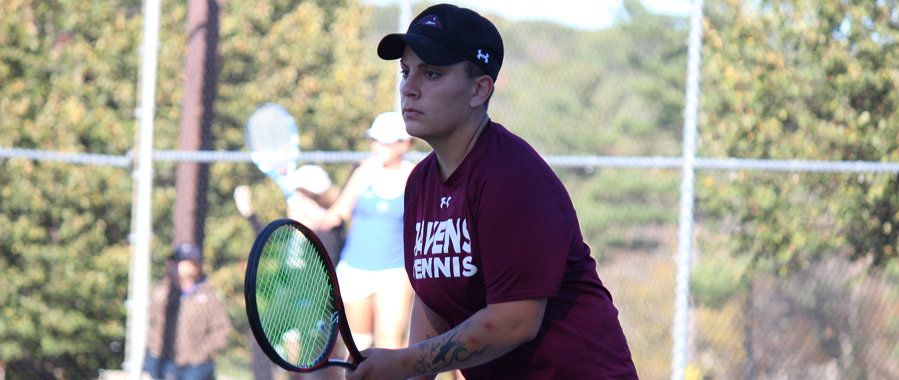 Women's Tennis Shutout at Colby, 9-0