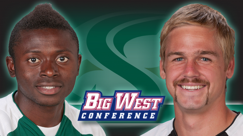 MEN'S SOCCER SWEEPS BIG WEST WEEKLY AWARDS