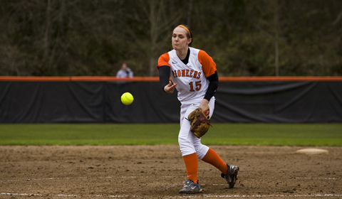 Softball Loses Close Battles With George Fox