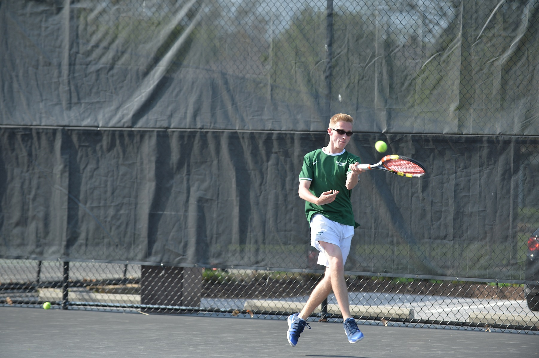 Men's Tennis Tops St. Mary's (Md.) 5-4