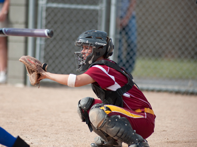 Rachel Mueller recorded her sixth multi-hit game this season with two hits in game one at Northwood.  (Photo by Ed Hyde)