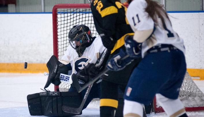 Women's Hockey Bounces Back with Win Over Cardinals