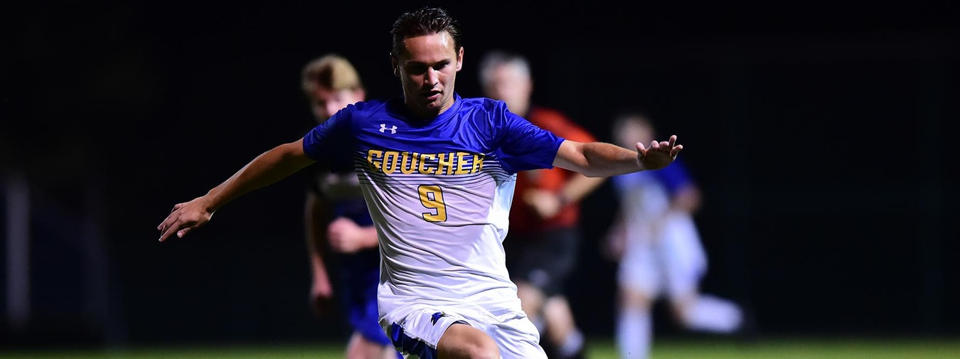Cohen's Two Goals In Second Half Lifts Goucher Men's Soccer Past Cairn, 3-1