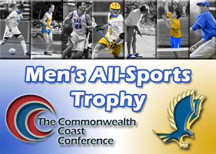 Roger Williams University Claims the 2013-14 CCC Men's All-Sports Trophy