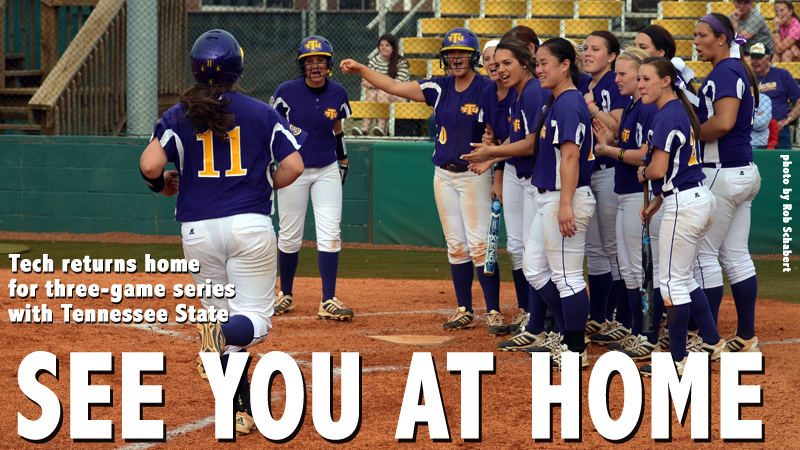 Softball returns home for three-game set with in-state rival Tennessee State