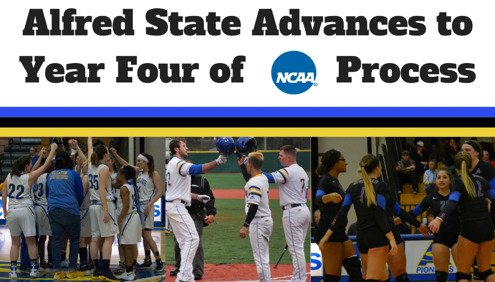 Alfred State Advances to Year Four of NCAA Process