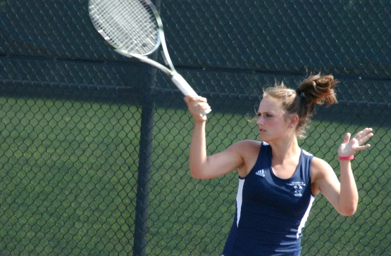 #22 UMW Women's Tennis Blanks Wesley, 9-0