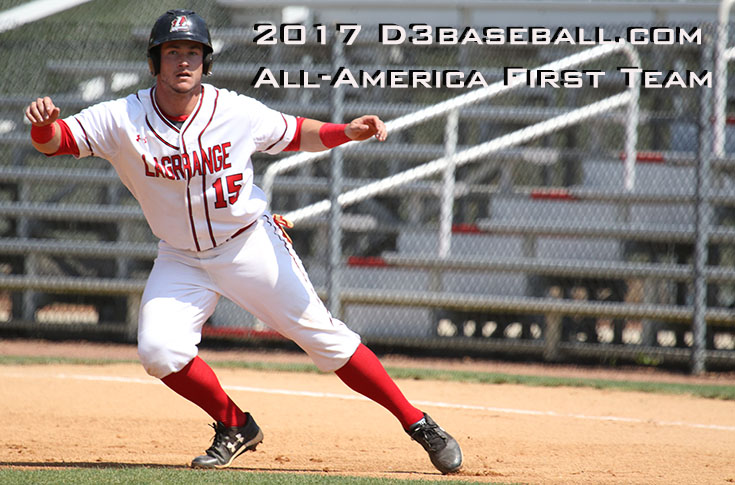 2016-17 Review/Baseball: Casey Bell named to D3baseball.com All-America first team