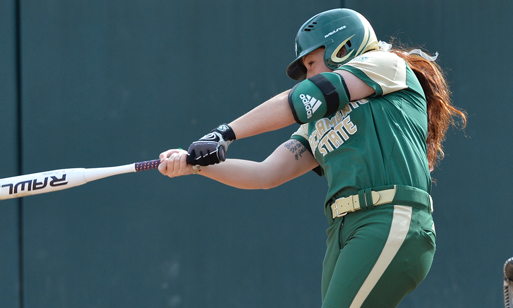 SOFTBALL SCORES A COMBINED 14 RUNS IN WINS OVER SANTA CLARA AND PACIFIC