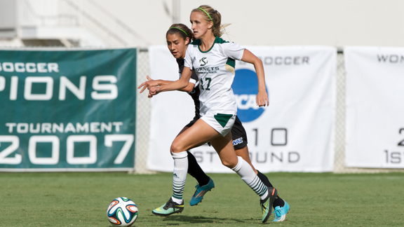 Women S Soccer Scores Twice But Falls At Weber State 4 2