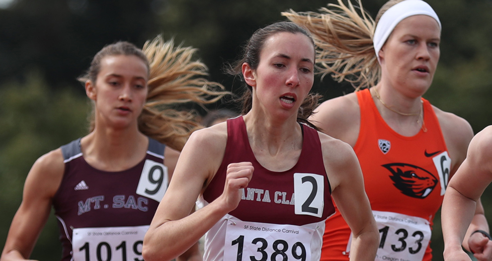 Hannah Wood will double up at 800 meters and 1,500 meters for the second straight meet this Saturday.