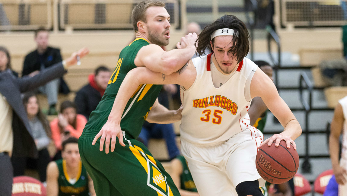 Ferris State Pulls Away Late To Beat NMU & Capture Outright GLIAC North Division Championship