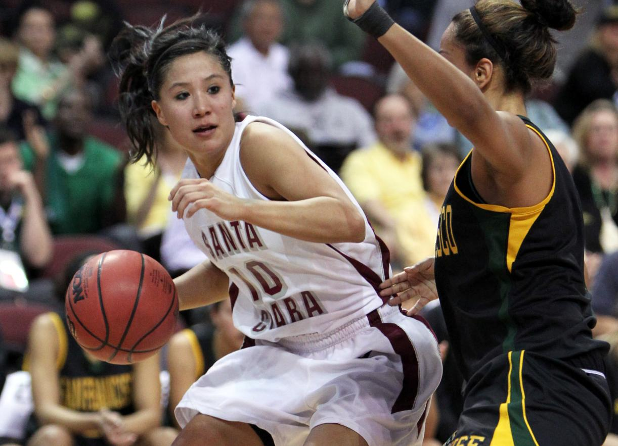 Shoji, Gipson Lead Santa Clara Past USF in WCC's First Round
