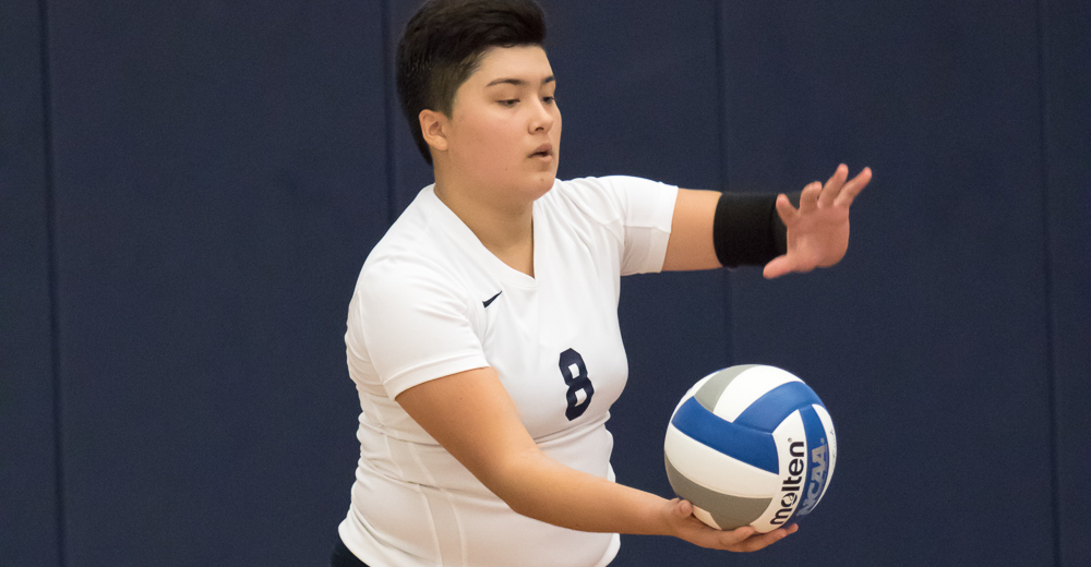 Palomino Records Pair of Double-Doubles But Women's Volleyball Drops Two League Contests