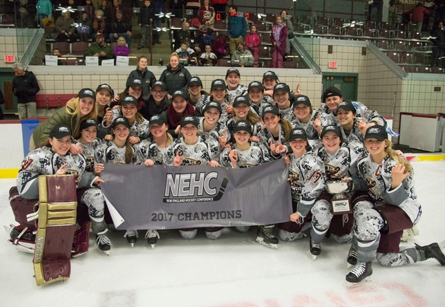Women's Hockey: Norwich claims 7th NEHC title with 5-0 win over Manhattanville
