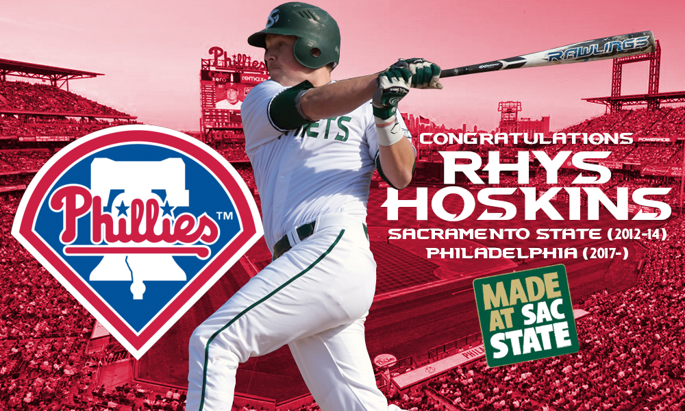 HOSKINS CALLED UP BY THE PHILADELPHIA PHILLIES