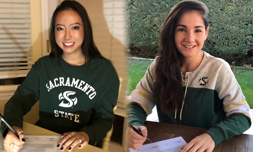 WOMEN'S GOLF SIGNS TESS BLAIR AND CLOE GRAND TO NATIONAL LETTERS OF INTENT