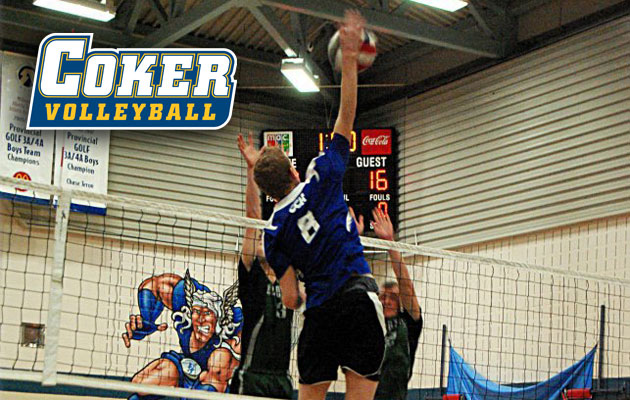Coker Men's Volleyball Signs First Player