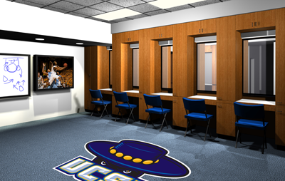 Phase II Calls For Renovated Locker Rooms Showers And Student Athlete Amenities Each Program An Upgraded Training Room