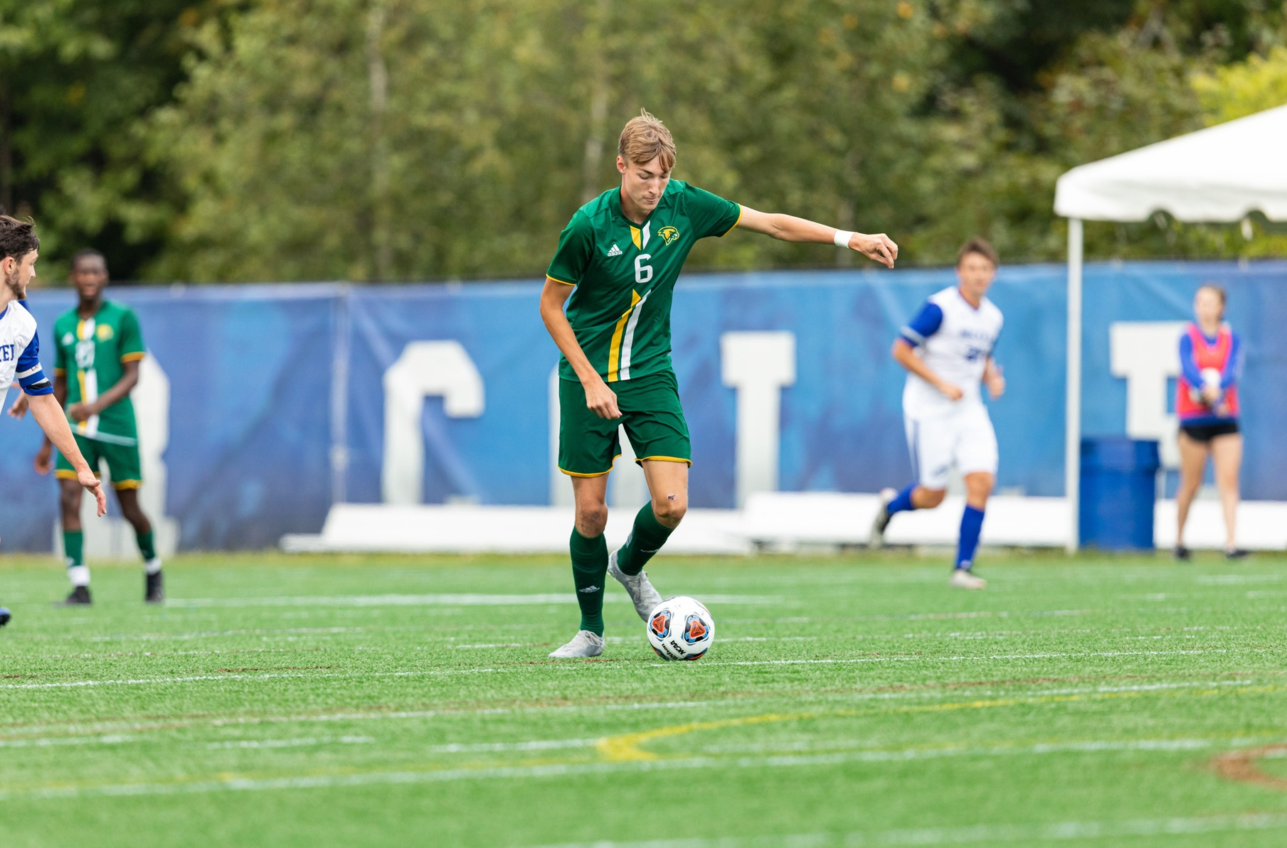 Falcons Hold Off Fighting Scots, 2-1