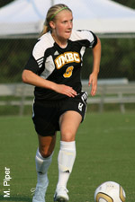 Amy Savage leads UMBC with four points.