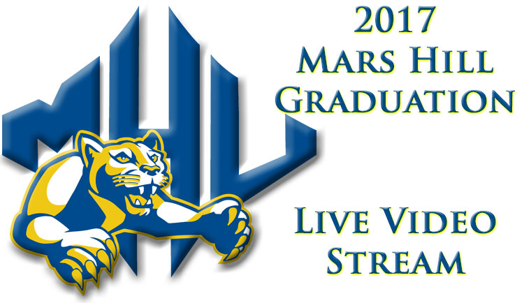 Athletic Department will Broadcast Mars Hill's Graduation Ceremony
