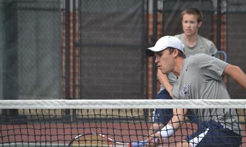 #17 Men's Tennis Defeats #25 Bates, 6-3, on Saturday in Fredericksburg