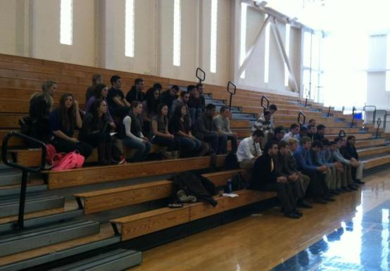 INDOOR TRACK & MEN'S VOLLEYBALL PARTICIPATE IN TEAM BLESSING