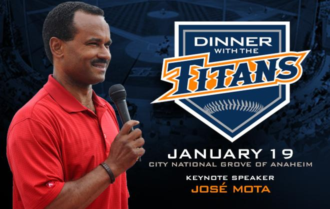 Jose Mota to Headline Annual Dinner with the Titans Event