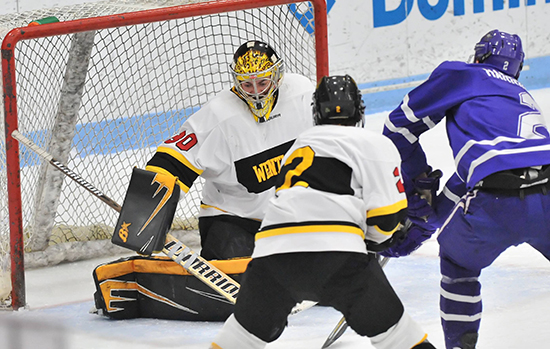 Hockey Holds Off Late Endicott Comeback