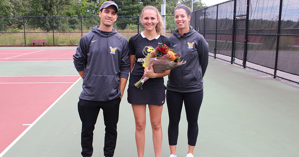 Women's Tennis Swept by Nichols