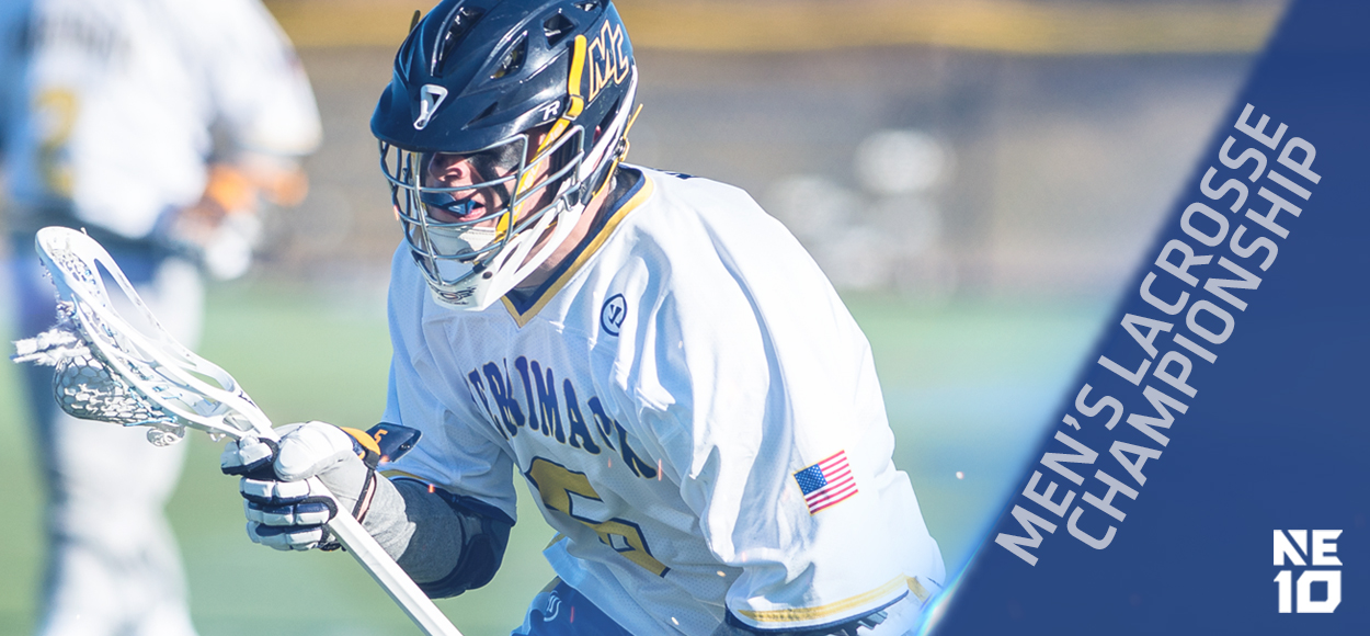Embrace The Championship: Merrimack, Saint Anselm to Square Off in NE10 Men's Lacrosse Title Tilt