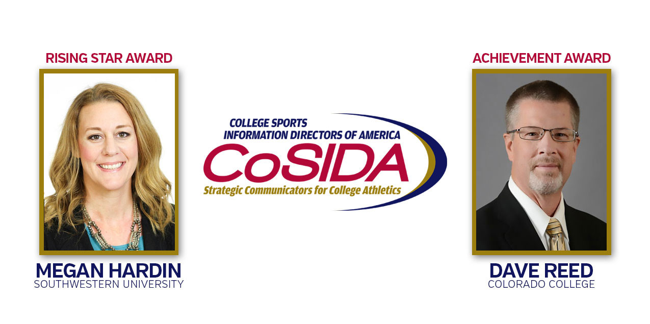 Colorado College's Reed, Southwestern's Hardin to Receive CoSIDA Special Awards