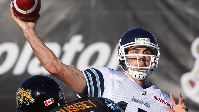 FORMER HORNET RICKY RAY NAMED TO CFL ALL-STAR TEAM