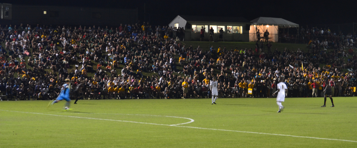 Hauck Grabs Equalizer; UMBC Draws with No. 1 Maryland, 1-1 on Tuesday in Front of a Record Crowd